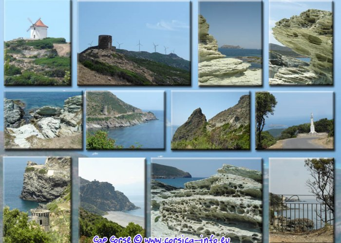 De vinger van Corsica - Cap Corse