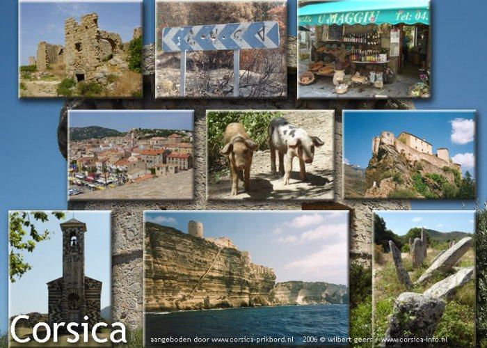 Corsica- sfeerbeelden