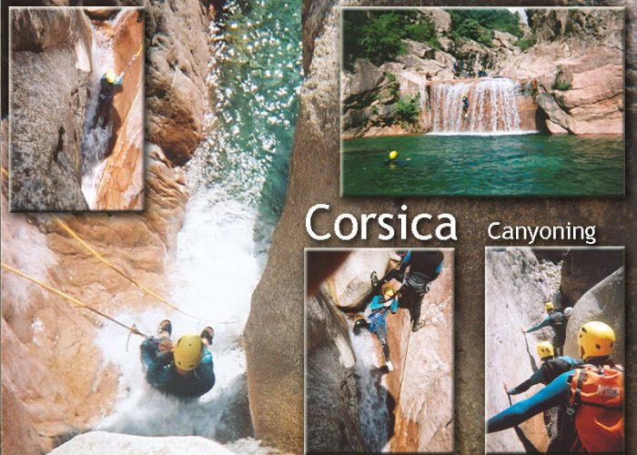 Corsica canyoning