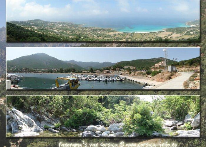 Corsica 3x panorama