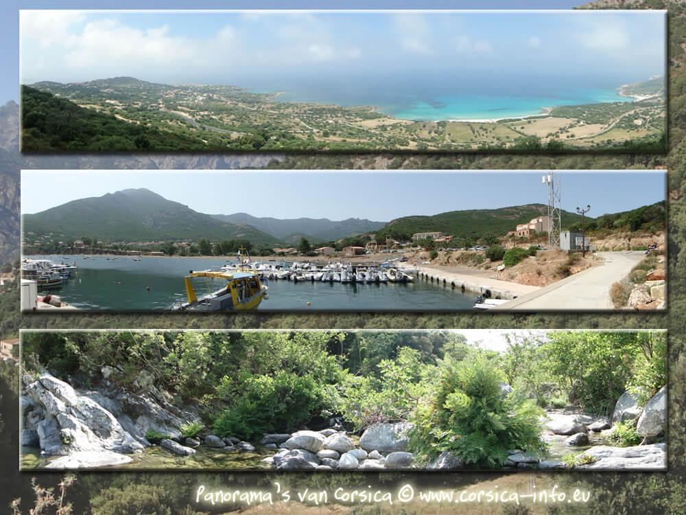 collage van 3 panoramas