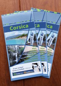 Corsica Toeristische Kaart