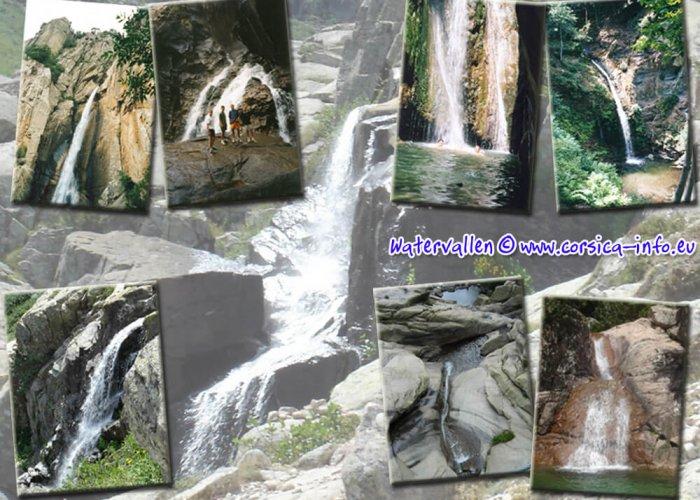 Corsica watervallen