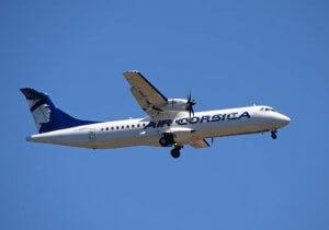 Vliegen met vliegtuig van Air Corsica