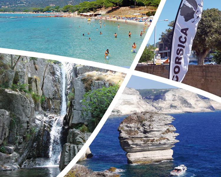 Corsica - Actuele Informatie -Vierluik