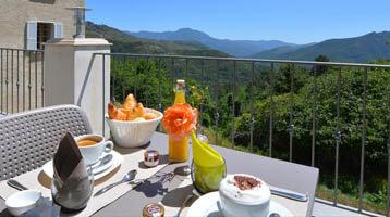 Accommodatie op Corsica: heerlijk op het terras