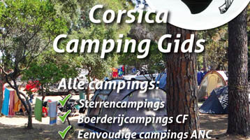 Alle campings op Corsica algemeen: Campinggids