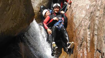 Ervaringen algemeen en bezienswaardigheden: Canyoning